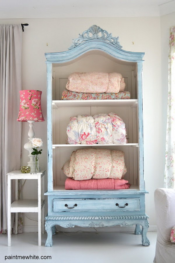 Fantistic diy shabby chic furniture ideas tutorials hative for Shabby chic bedroom furniture
