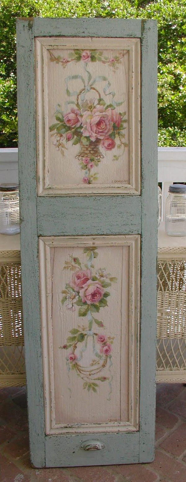 How To Paint A Piece Of Furniture Shabby Chic