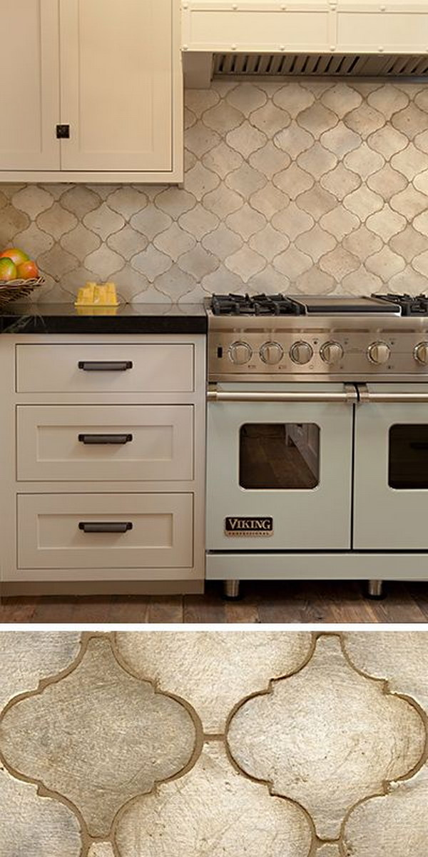 35 beautiful kitchen backsplash ideas hative - Delightful backsplash designs beautify kitchen ...