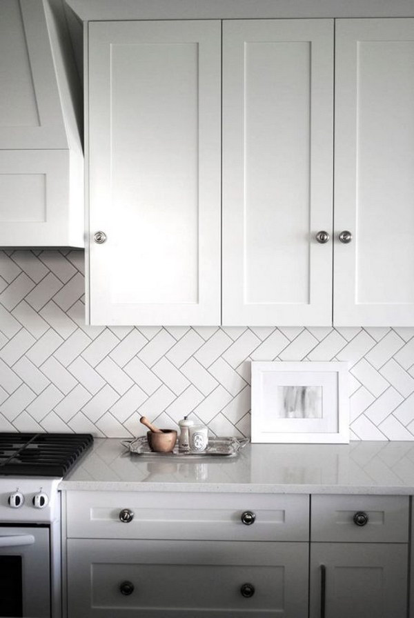 Amazing 35 Beautiful Kitchen Backsplash Ideas Hative Download Free Architecture Designs Crovemadebymaigaardcom