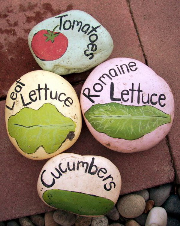 30 Diy Plant Label Marker Ideas For Your Garden Hative