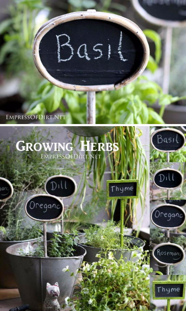 30 Diy Plant Label Amp Marker Ideas For Your Garden Hative