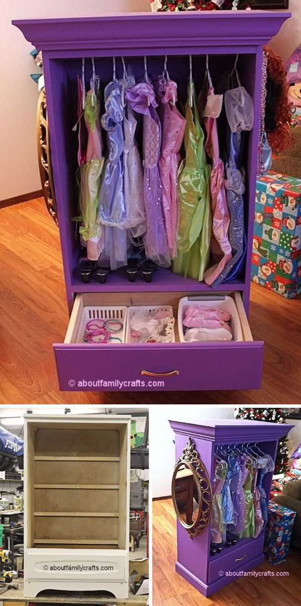 DIY Dress Up Armoire.