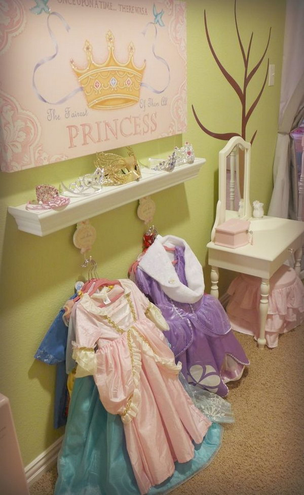 Princess Dress Up Station