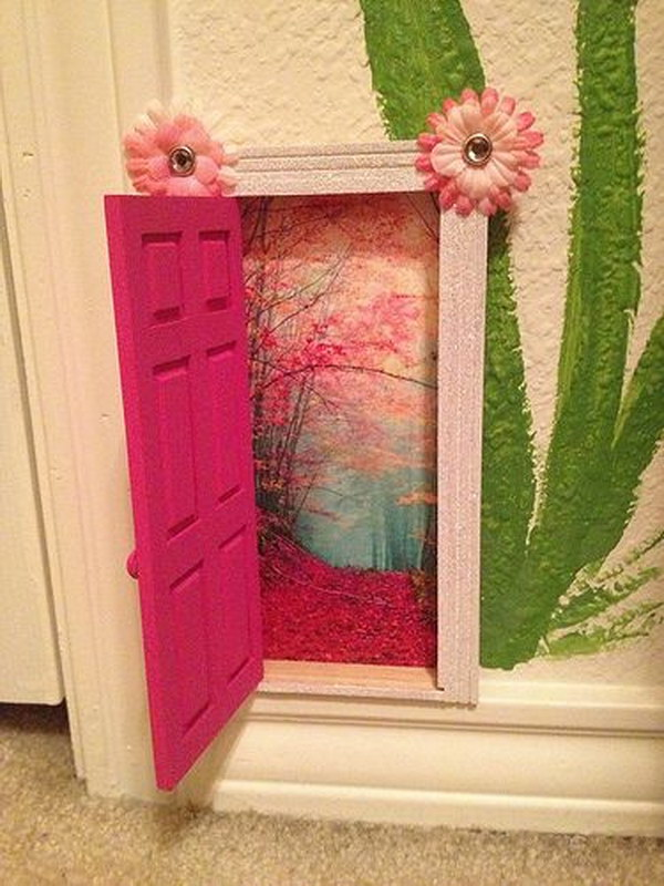 DIY Tooth Fairy Door