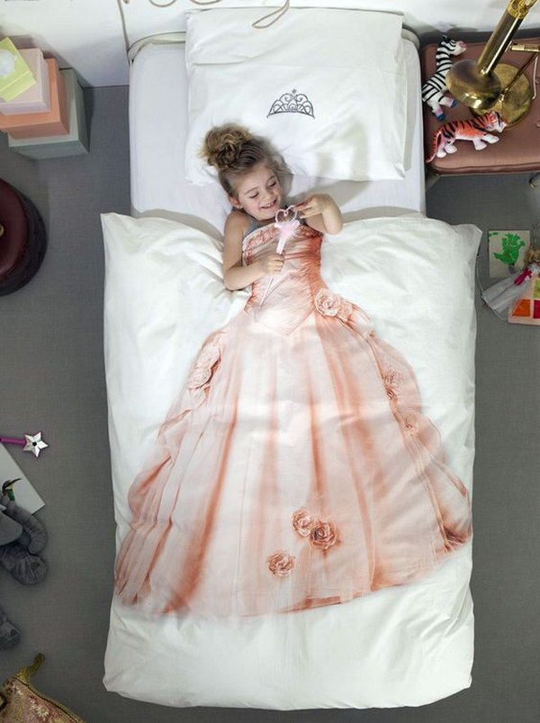 Princess Print Duvet Set.