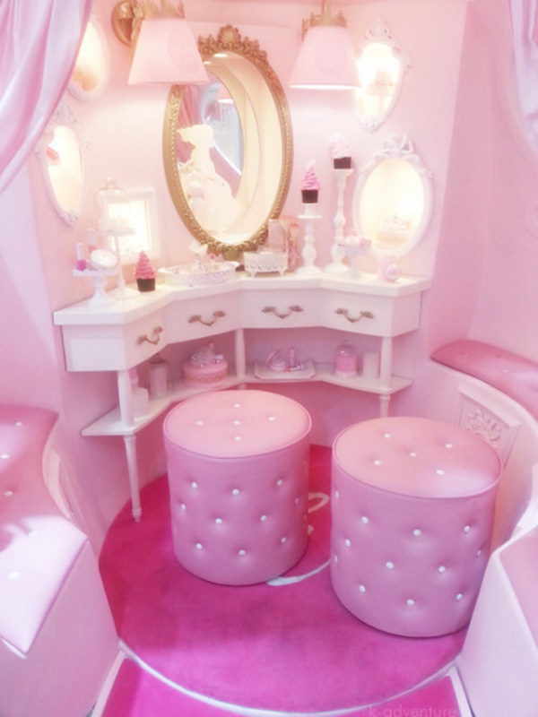 Amazing Girls Bedroom Ideas: Everything A Little Princess Needs In Her Bedroom - Hative