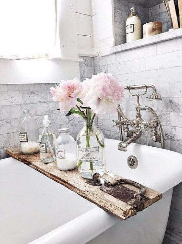 Fantastic French Rustic Bathroom.