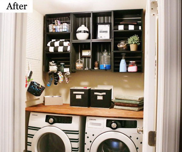 Awesome Before And After Laundry Room Makeovers