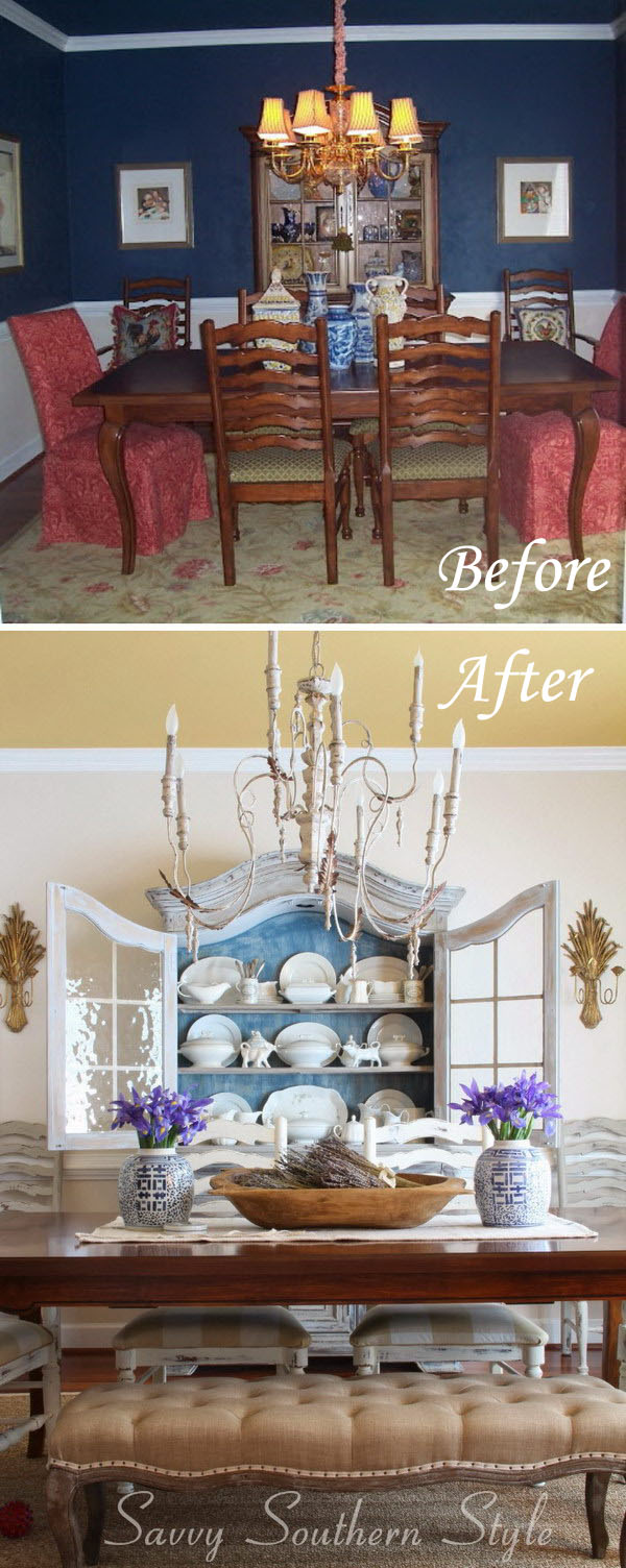 Before And After: 90s Dining Room Transformation