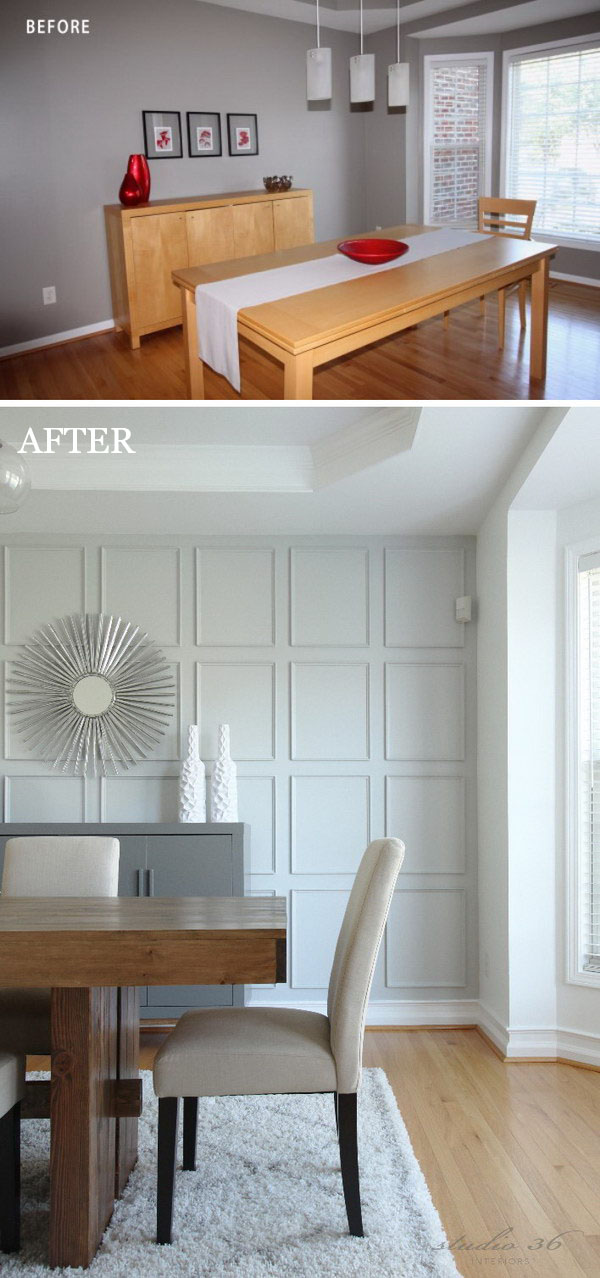 Easy And Bud Friendly Dining Room Makeover Ideas Hative