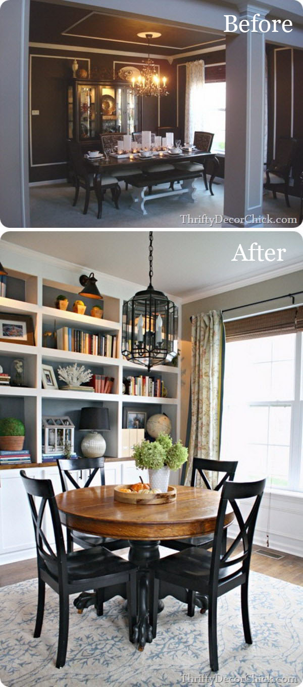 Ordinaire Easy And Budget Friendly Dining Room Makeover Ideas   Hative