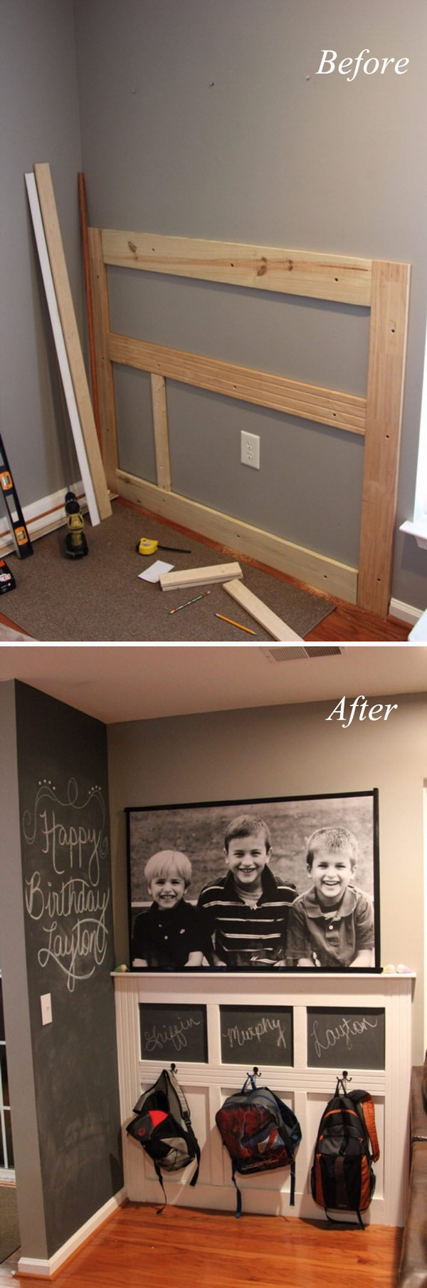 Foyer Mudroom Reviews : Amazing entryway makeover ideas and tutorials hative