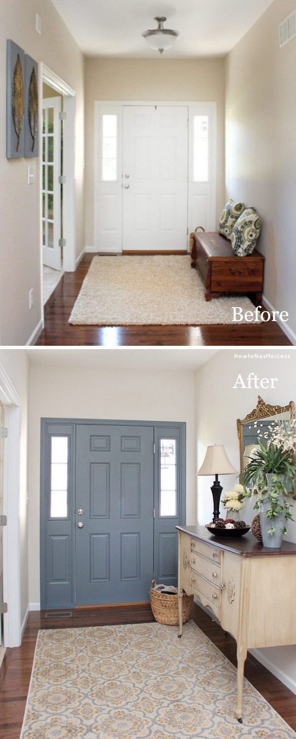 30 amazing entryway makeover ideas and tutorials hative - What is a foyer ...