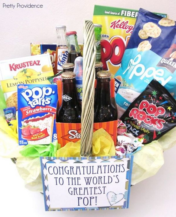 New Pop Gift Basket.