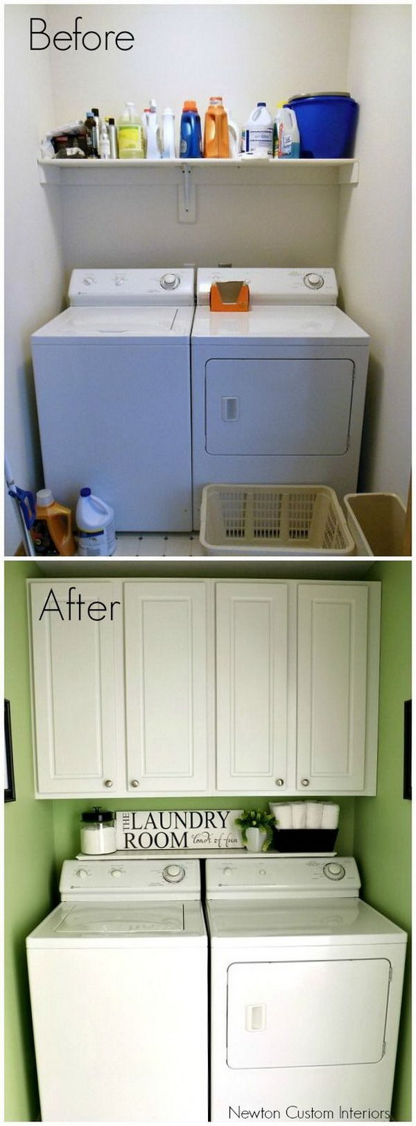 Small Laundry Room Reveal.