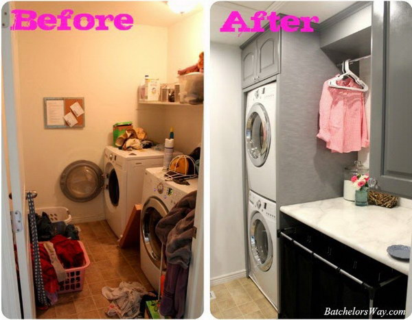 Pictures Of Laundry Rooms Makeovers