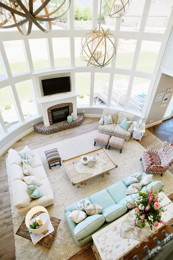 Living Room Design Layout