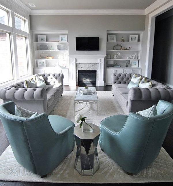 1009 Best Living Room Images On Pinterest: Living Room Layout Guide And Examples