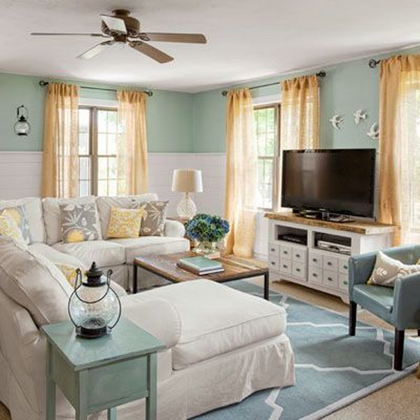 A Guide To Using Pinterest For Home Decor Ideas: Living Room Layout Guide And Examples