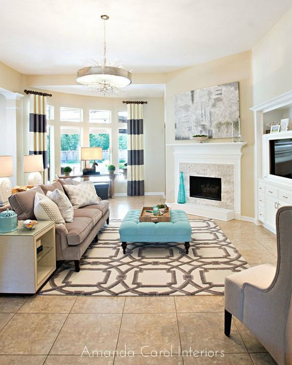 Living Room Layout Guide and Examples - Hative - photo#36