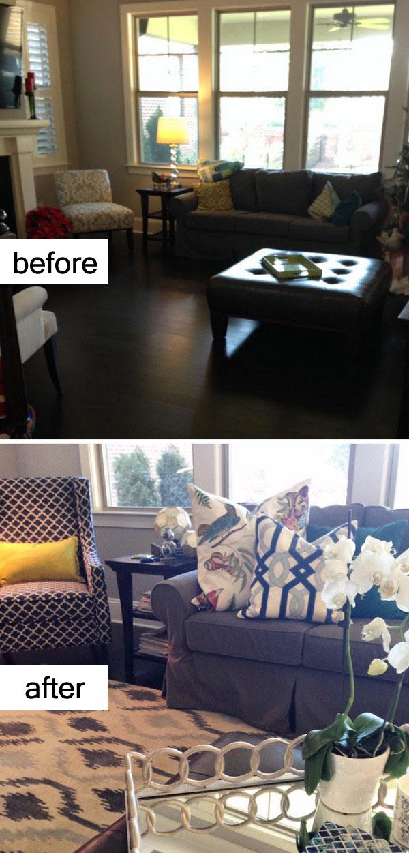 Living Room Makeover.