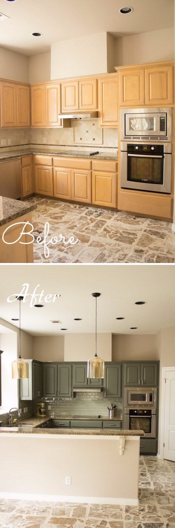 Add Character To Your Kitchen Using Pendant Lights 44 45 Genius Kitchen Makeover Ideas