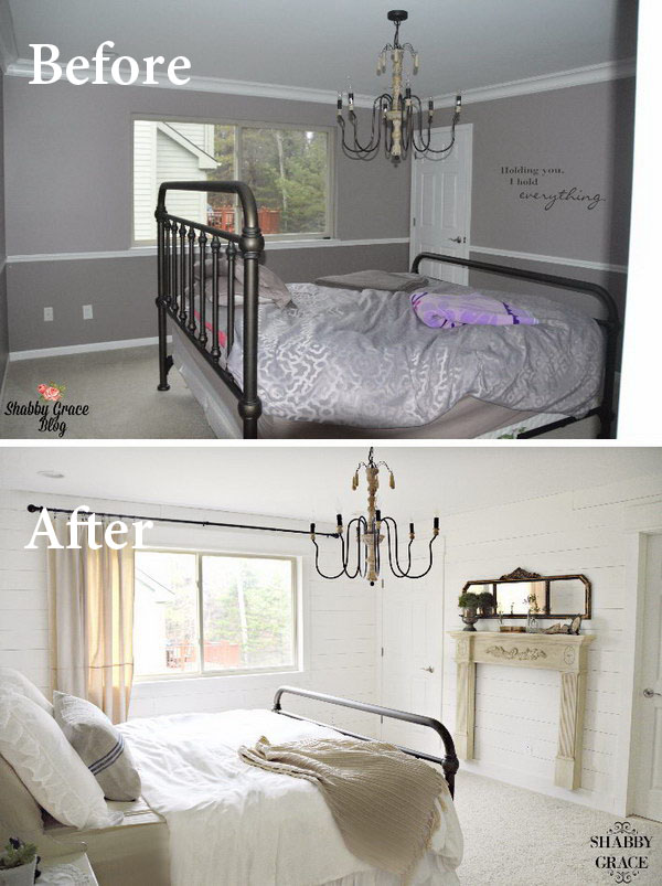 Paint colors to make a room look bigger home design for How to make more space in your bedroom