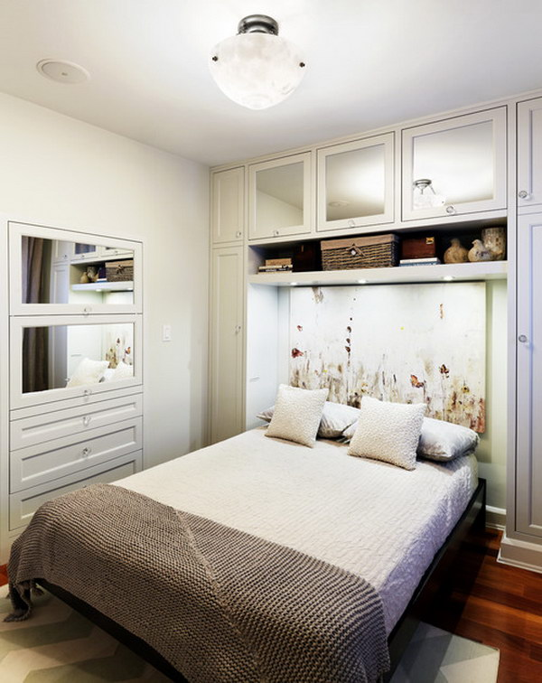Mirrored Wardrobe Doors Can Help Increase the Feeling of Space