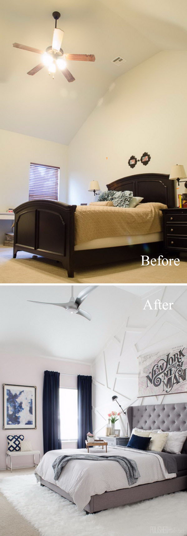 creative ways to make your small bedroom look bigger hative 21258 | 30 31 great ways to make your small bedroom look bigger