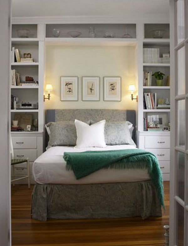creative ways to make your small bedroom look bigger hative 21258 | 45 great ways to make your small bedroom look bigger