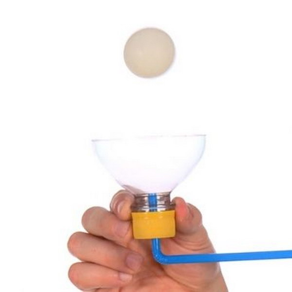 Floating Ping Pong Ball Science Experiment.