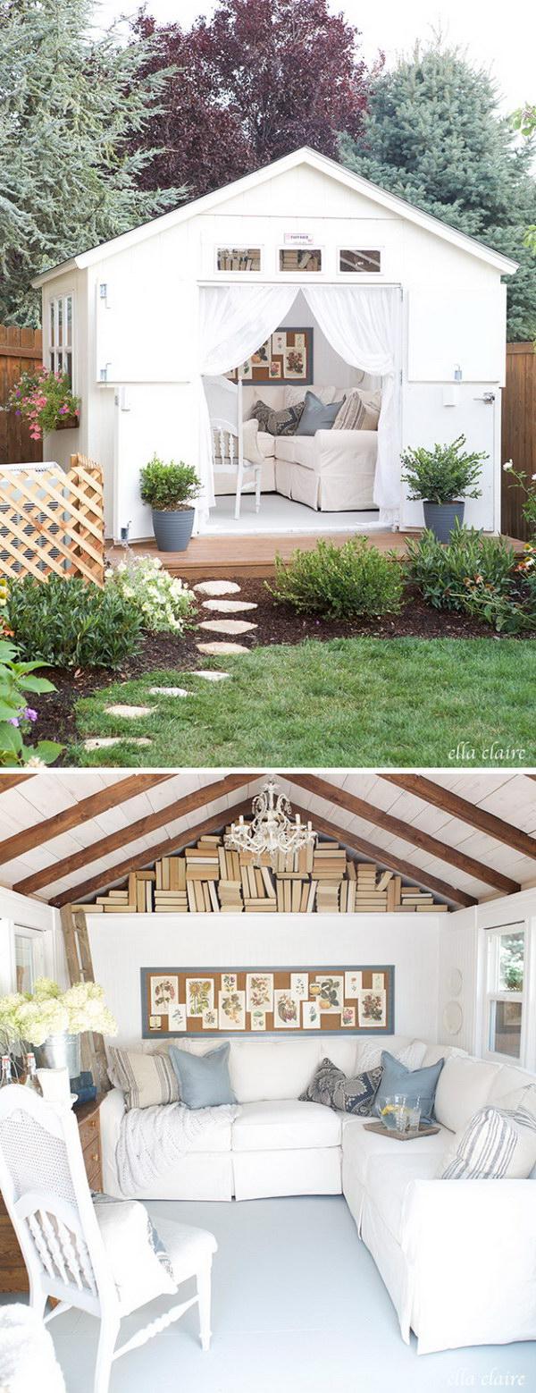 A Dreamy Den in The Garden.