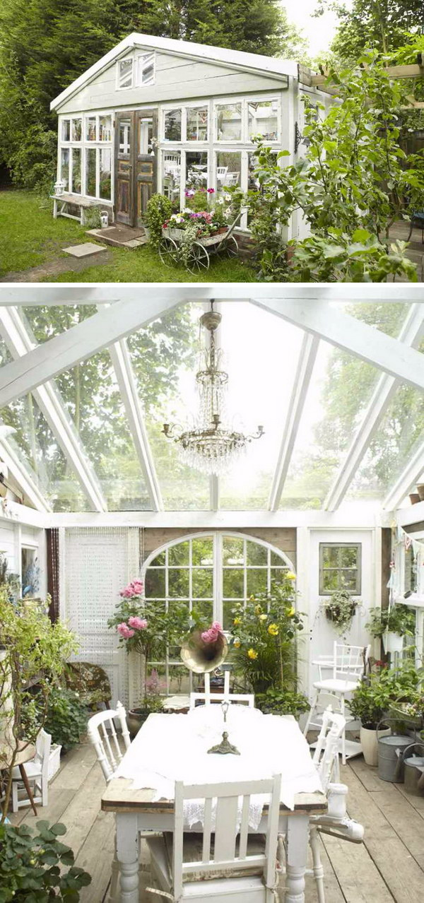 A Renovated Greenhouse.