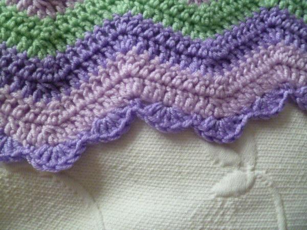 Simple Crochet Edging Patterns : Lovely Crochet Edging Patterns & Ideas - Hative