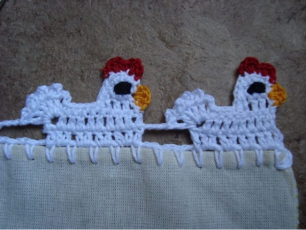 Cute Chicken Edging.