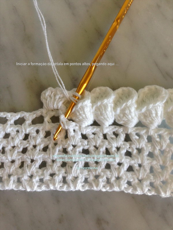 Lovely Crochet Edging Patterns Ideas Hative