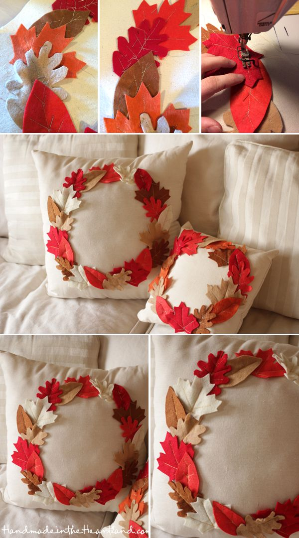 30 diy projects for a more festive home this fall hative for Fall diy crafts pinterest
