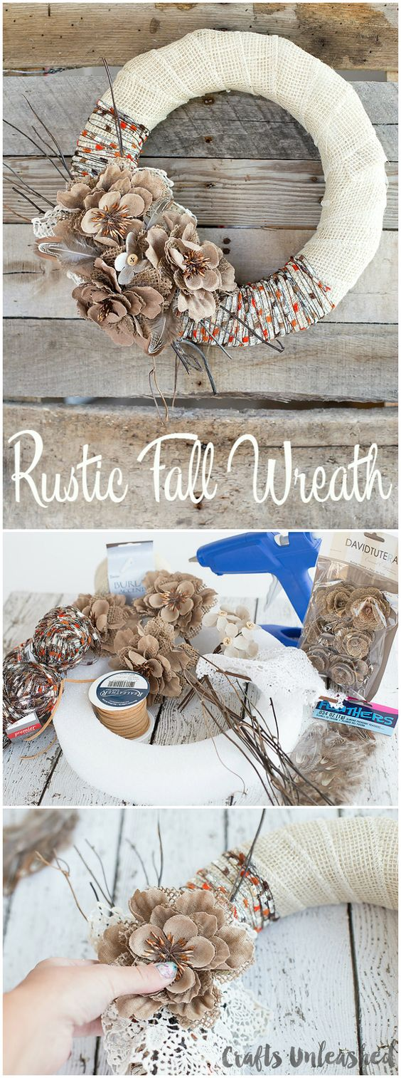 20 Awesome DIY Fall Door Decorations