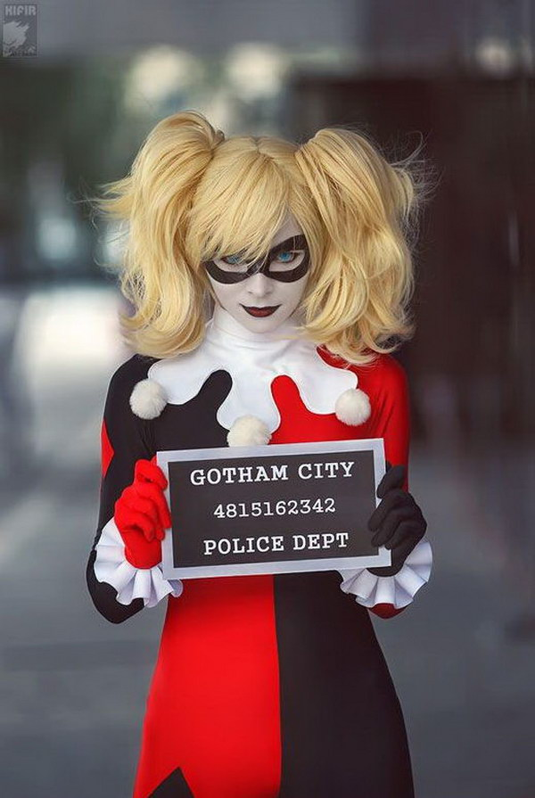 Pretty Harley Quinn Cosplay.