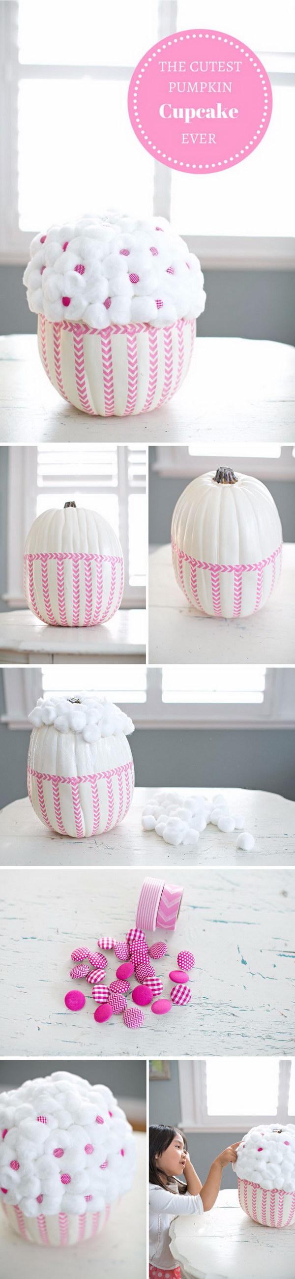 Cupcake Pumpkin.