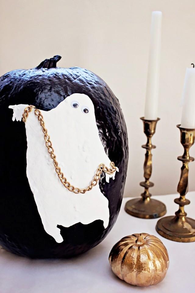 40+ Cool No-Carve Pumpkin Decorating Ideas