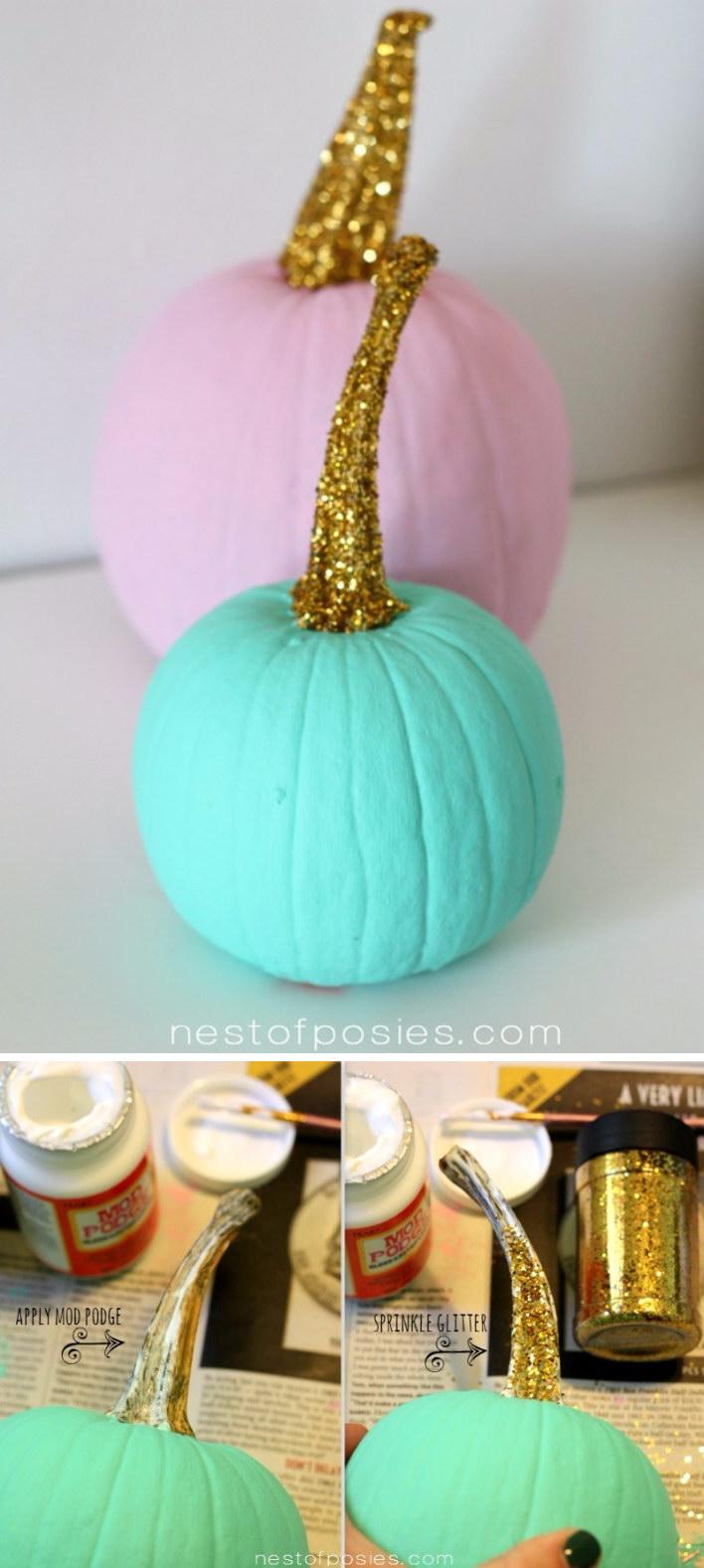 40+ Cool No-Carve Pumpkin Decorating Ideas - Hative