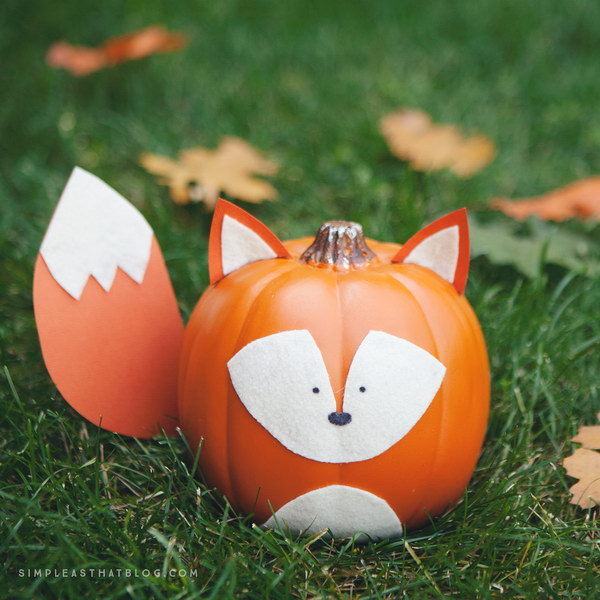 Fox Pumpkin.