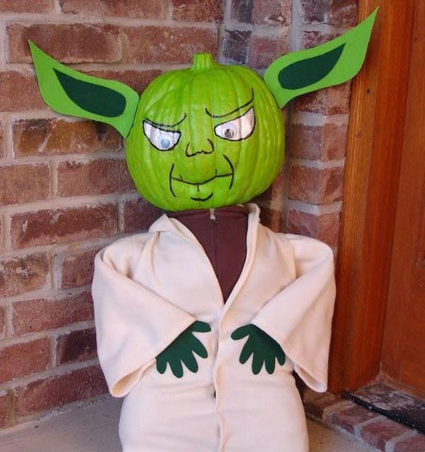 Yoda Pumpkin.
