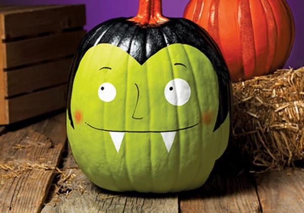 Vampires Pumpkin.