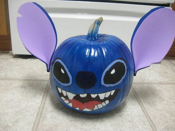 Stitch Pumpkin.