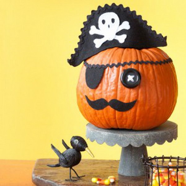 Pirate Pumpkin.