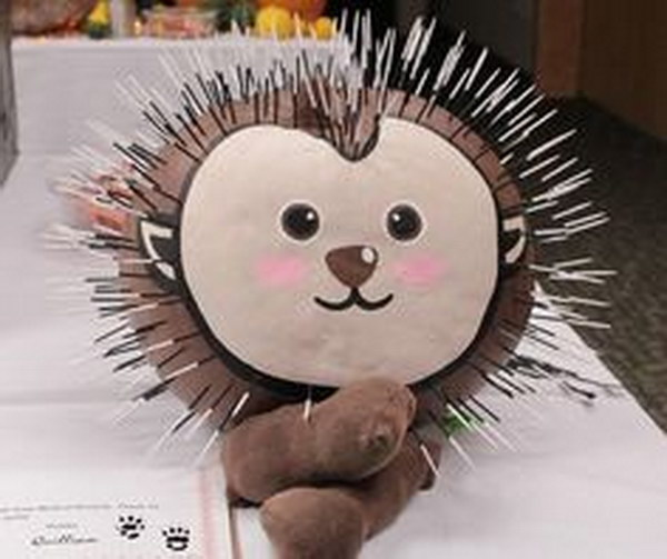 Porcupine Face Paint