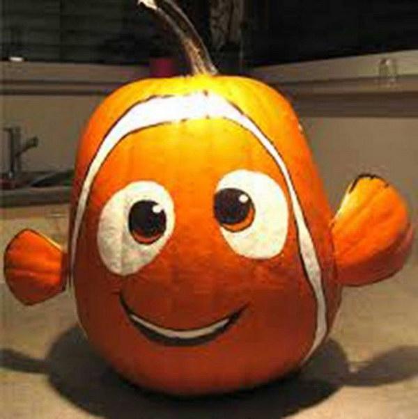 Finding Nemo Pumpkin..